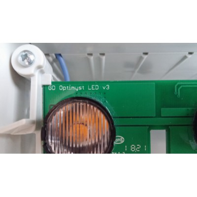 Isola - halogenová lampa v krbové vložce Cassette 250
