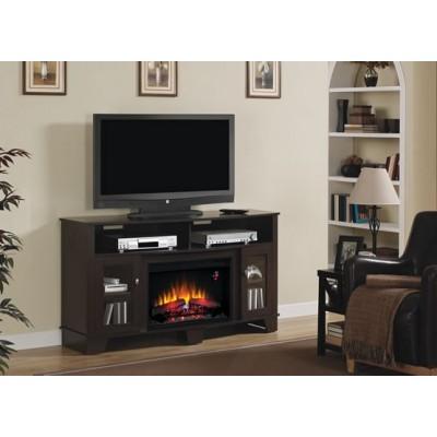 La Salle stolek pod televizi s elektrickým krbem Classic Flame