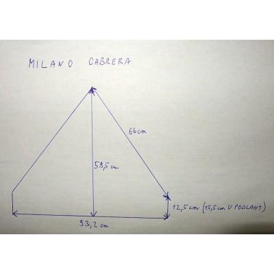 Milano Cabrera- elektrický rohový krb