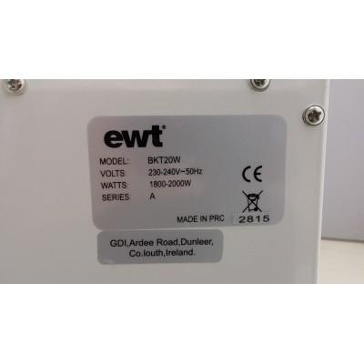 Bartok EWT bilý - elektrický krb