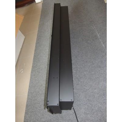 Synergy černý rám - elektrický nástěnný krb Dimplex EWT
