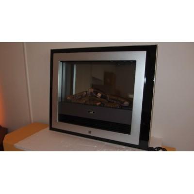 Bizet - nástěnný elektrický krb Dimplex s černým rámem