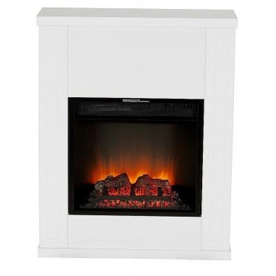 Loko bílý elektrický krb Classic Flame