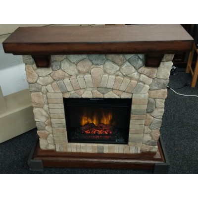 Tequesta kamenný elektrický krb Classic Flame