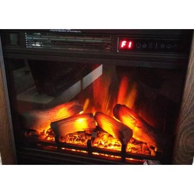 Milo klasik bílý elektrický krb Classic Flame