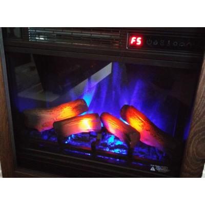 Milo moderní bílý elektrický krb Classic Flame