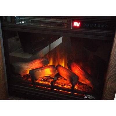 Milo klasik elektrický krb Classic Flame provedení ořech