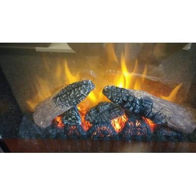 Collingwood tmavý ořech - elektrický krb Dimplex