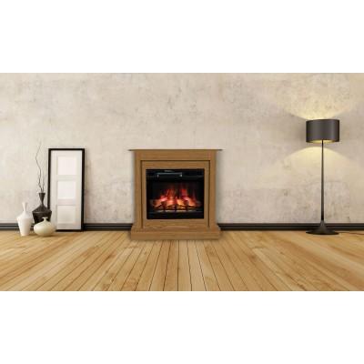 Milo modern dub elektrický krb Classic Flame