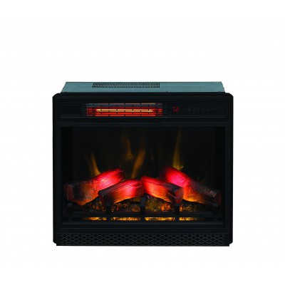 Simo černý lesk elektrický krb Classic Flame