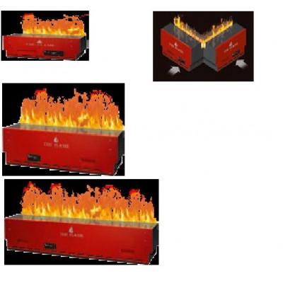 nekonečný plamen - elektrická krbová vložka se systémem Opti-myst