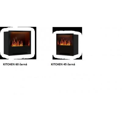 KITCHEN - Elektrická krbová vložka THE FLAME optimyst