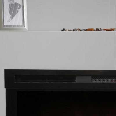 Alicante bílý-černý - elektrický krb Dimplex