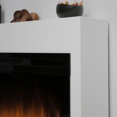 Alicante bílý-hnědý - elektrický krb Dimplex