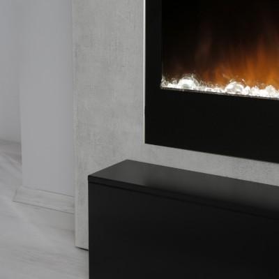Alicante beton-černá elektrický krb