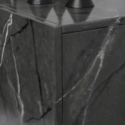 Eaton šedý mramor elektrický krb