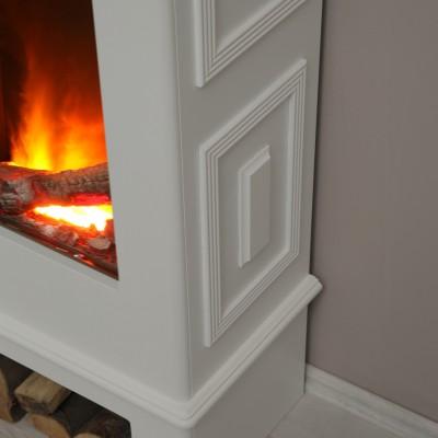 Topas de Luxe bílý - elektrický krb