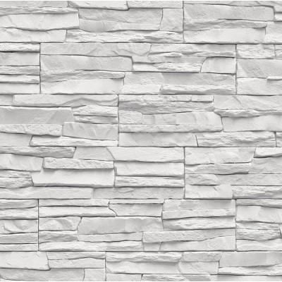 Vigo bílý kámen-ořech - elektrický krb Aflamo