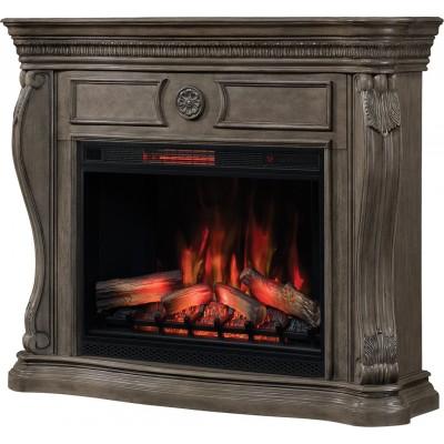 Lexington elektrický krb Classic Flame šedý