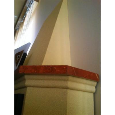 Elektrický krb Klasik Cheriton detail komína