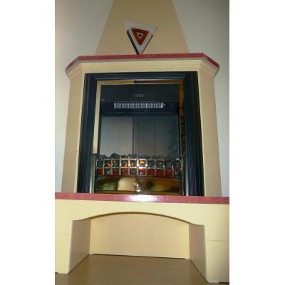 Elektrický krb Klasik Cheriton s komínem místo na dřevo