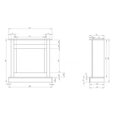 Vigo klasik - rozměry