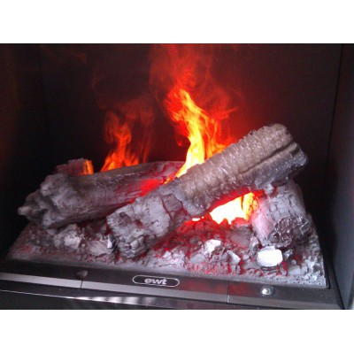 Romero - elektrický krb Dimplex detail ohně