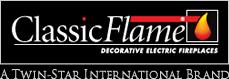 logo elektrických krbů Classic Flame
